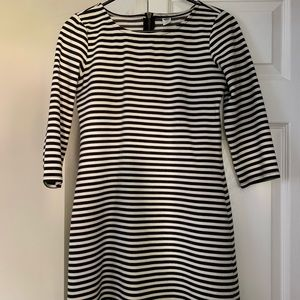Old Navy Striped 3/4 Sleeve Dress